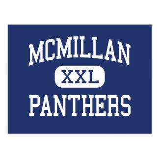 McMillan Panthers Middle Miami Florida Postcard