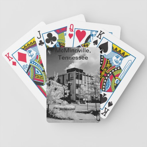 McMinnville City Hall Deck Of Cards