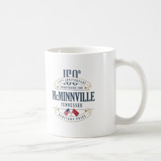 McMinnville, Tennessee 150th Anniversary Mug