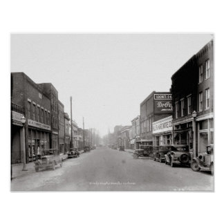 McMinnville Tennessee Circa 1930 Poster