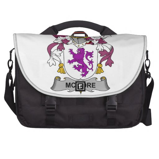 McMore Family Crest Laptop Computer Bag