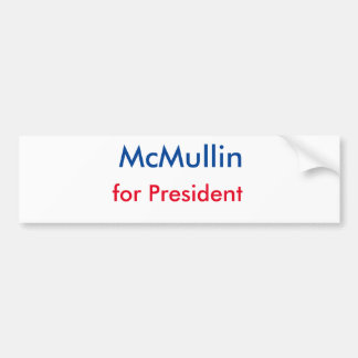 McMullin Bumper Sticker