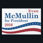 "McMullin For President Sign<br><div class=""desc"">McMullin For President - 2016 Election</div>"