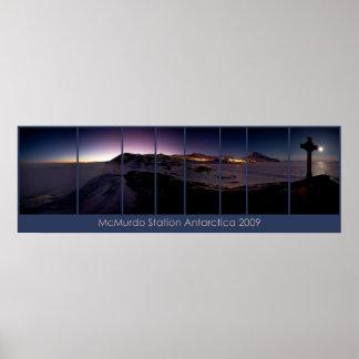 McMurdo Station 2009 Poster