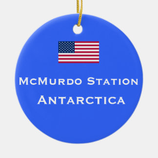 McMurdo* Station Christmas Ornament