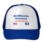 McMurdo Station*, gorra de béisbol de la Antártida