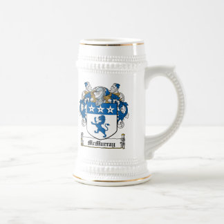 McMurray Family Crest 18 Oz Beer Stein