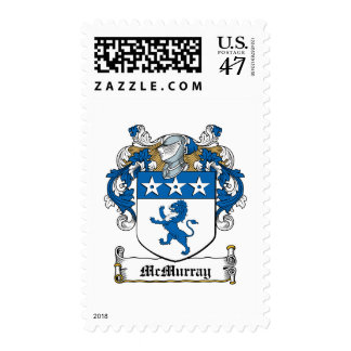 McMurray Family Crest Postage