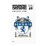 McMurray Family Crest Postage Stamps