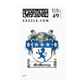 McMurray Family Crest Stamps