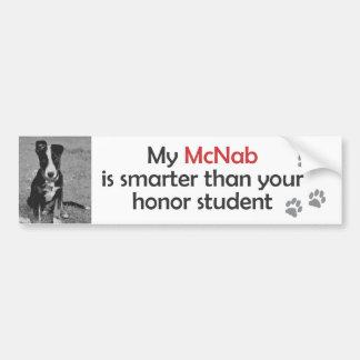 McNab Bumper Sticker Car Bumper Sticker