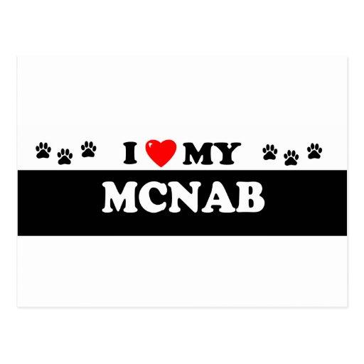 MCNAB POSTCARD