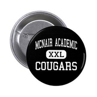 McNair Academic - Cougars - High - Jersey City Pin