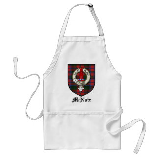 McNair Clan Crest Badge Tartan Adult Apron