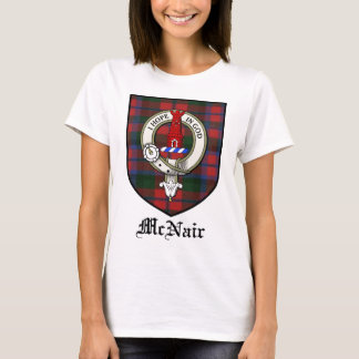 McNair Clan Crest Badge Tartan T-Shirt