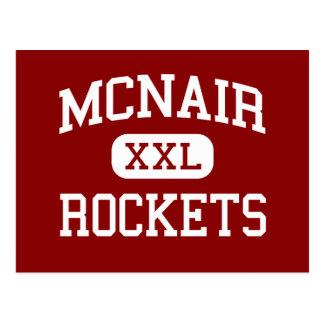 McNair - Rockets - Middle - San Antonio Texas Postcard