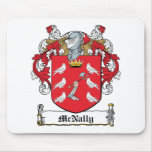 McNally Family Crest Mouse Pad