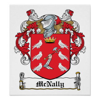 McNally Family Crest Poster