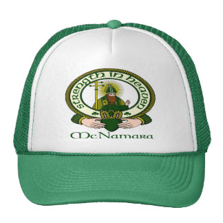 McNamara Clan Motto Cap Hats