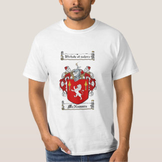 Mcnamara Family Crest - Mcnamara Coat of Arms T-Shirt