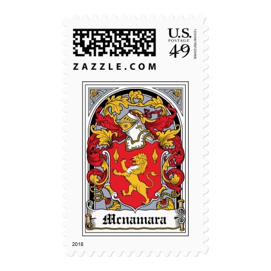 Mcnamara Family Crest Postage