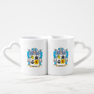 Mcneil Coat of Arms - Family Crest Couples' Coffee Mug Set