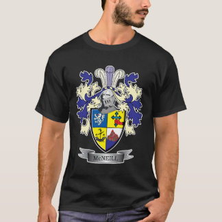 McNeill Family Crest Coat of Arms T-Shirt