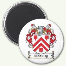 McNulty Family Crest Magnet