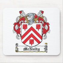 McNulty Family Crest Mousepad
