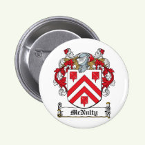 McNulty Family Crest Button