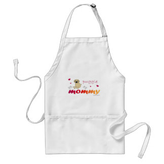 mcoct19 Puggle Fawn Mommy Adult Apron