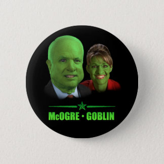 McOgre / Goblin '08 Pinback Button
