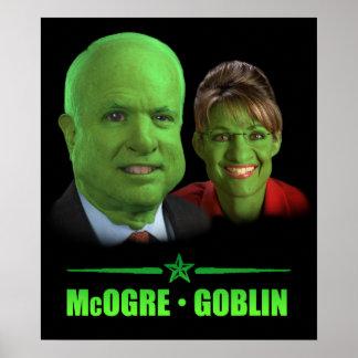 McOgre / Goblin '08 Posters