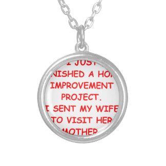 mcp round pendant necklace