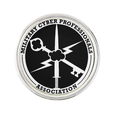 MCPA Black/White Lapel Pin