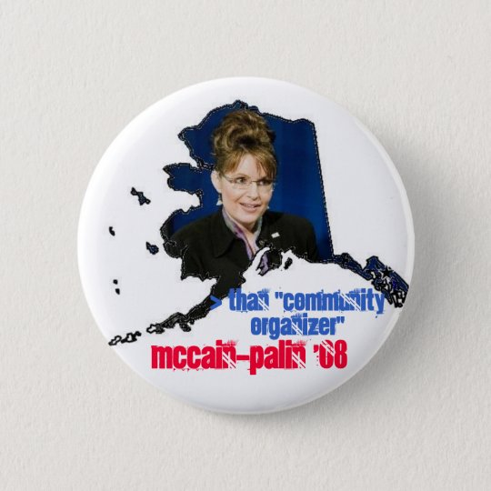 McPalin '08 Pinback Button