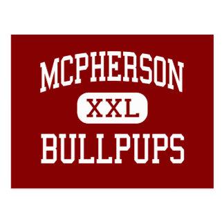 McPherson - Bullpups - High - McPherson Kansas Postcard