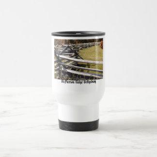 McPherson Ridge Gettysburg PA Travel Mug