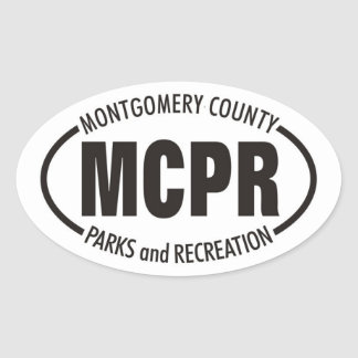 MCPR Decal Oval Sticker