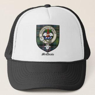 McQuate Clan Crest Badge Tartan Trucker Hat