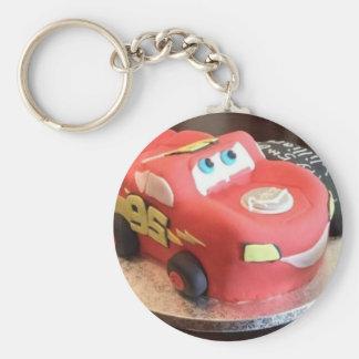 McQueen car cake Keychain