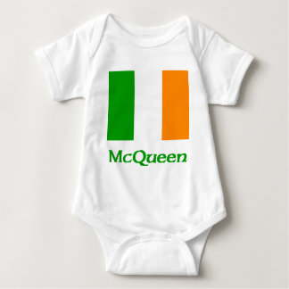 McQueen Irish Flag Baby Bodysuit