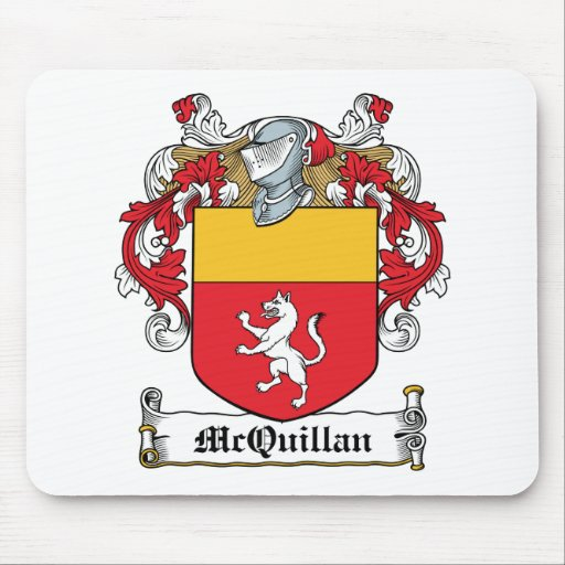 McQuillan Family Crest Mouse Pad