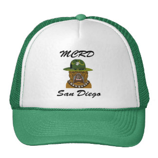 MCRD San Diego Devil Dog Trucker Hat