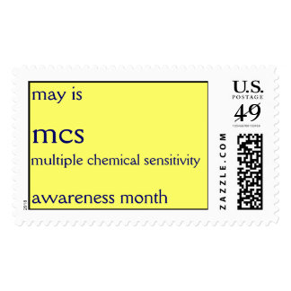 MCS awareness month - May 2011 Postage