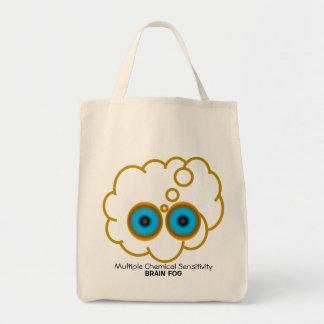 MCS Brain Fog Tote Bags