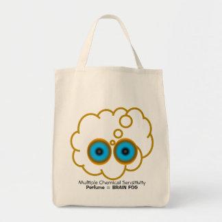 MCS Perfume = Brain Fog Tote Bags