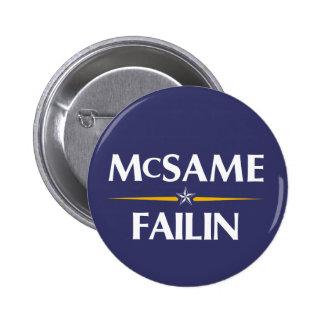 McSame - Failin 2008 Campaign Button