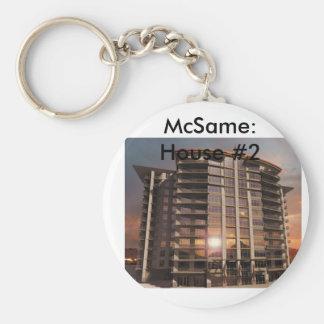 McSame: House #2 Keychain