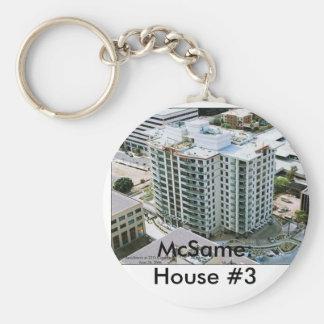 McSame: House #3 Keychain